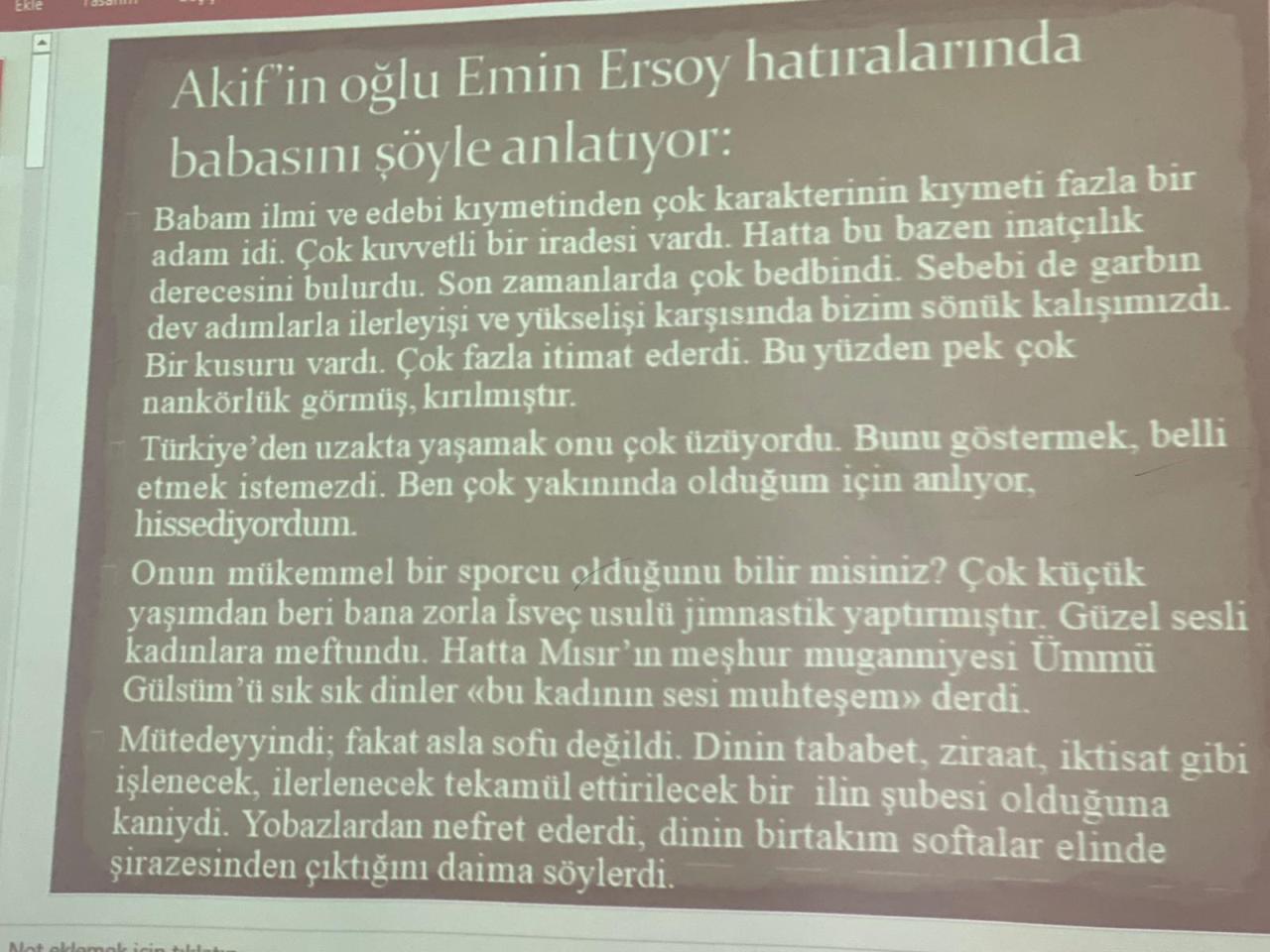 Halkın Sesi Mehmet Akif ERSOY ve İstiklal Marşımız