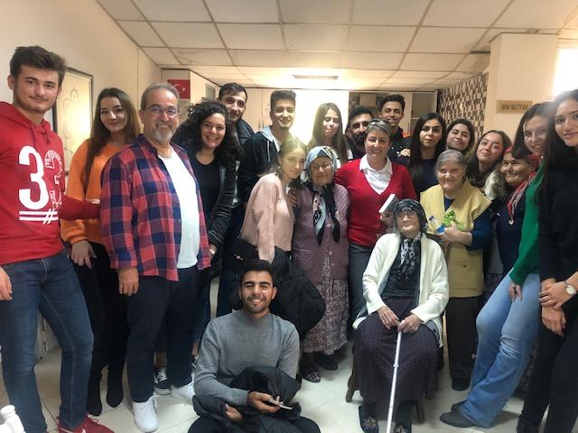 Öğrencilerimiz Fethiye Huzur Evine Ziyarette Bulundular