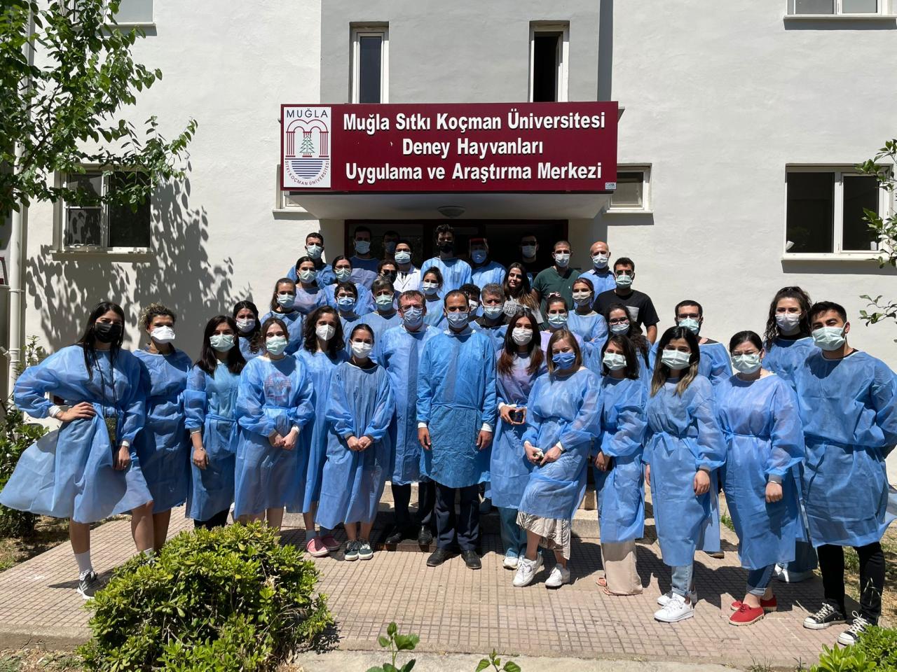Deney Hayvanları Uygulama ve Araştırma Merkezi (MUDEM), Deney Hayvanları Kullanım Sertifikası Kursu'nun 2.sini başarıyla tamamladı