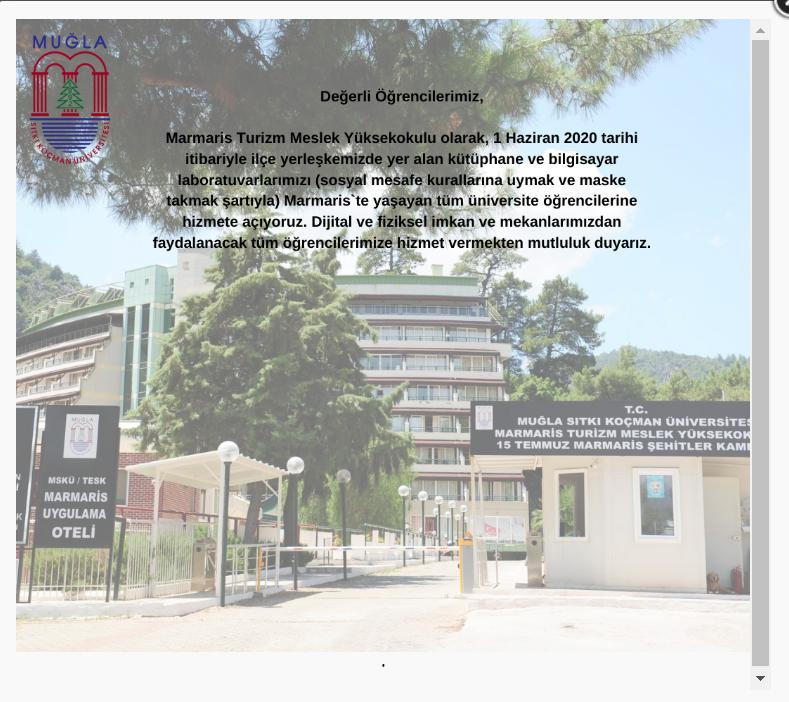 Yüksekokulumuz da Koronavirüs (COVİD – 19) Pandemisine Karşı Yapılan Çalışmalar