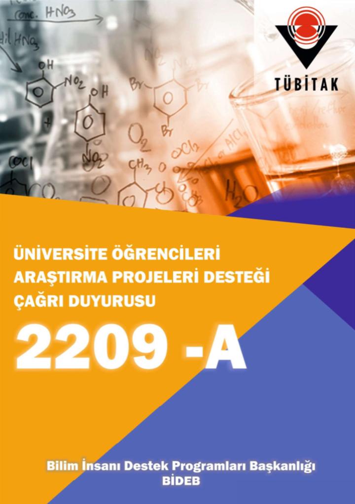 Bölümümüzün TÜBİTAK 2209-A Üniversite Öğrencileri Araştırma Projeleri Başarısı