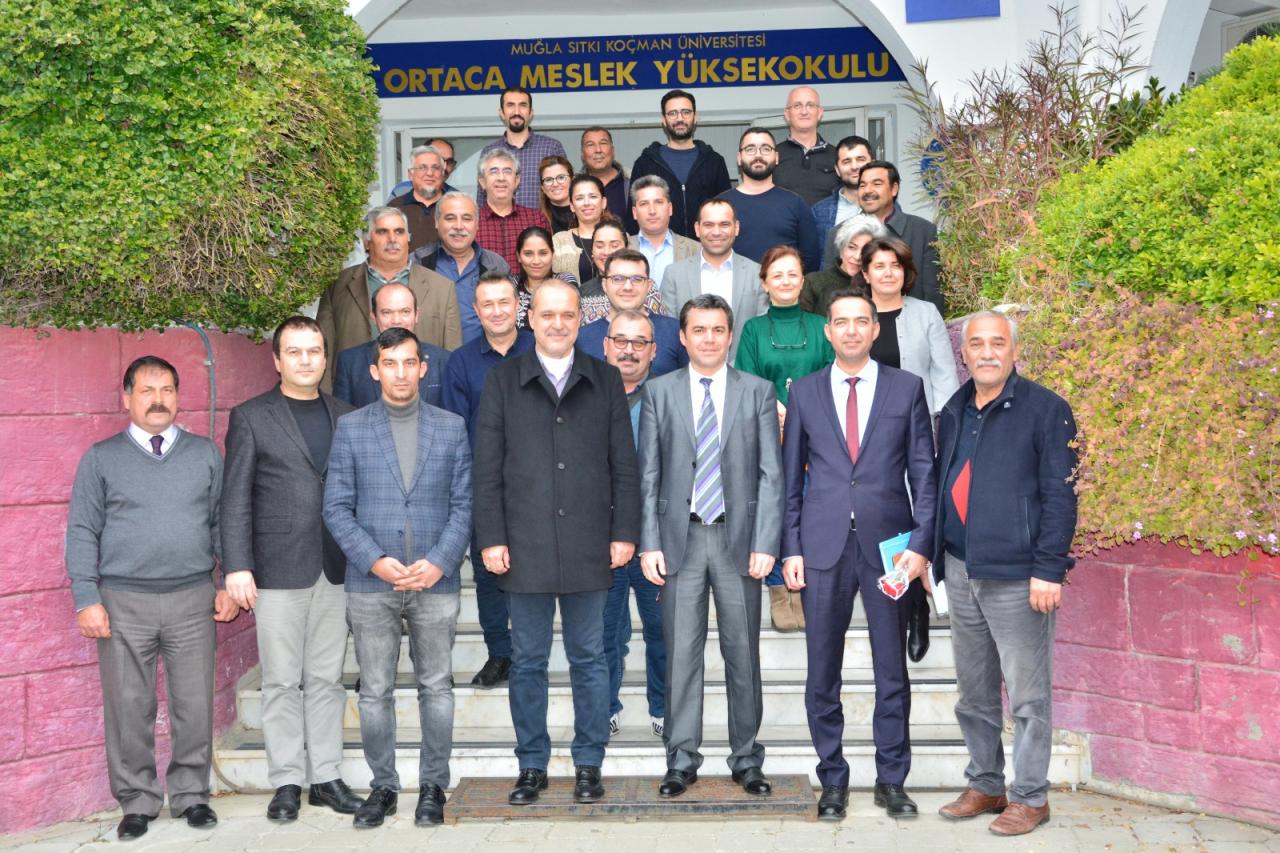 Ortaca Belediye Başkanı Alim Uzundemir Okulumuzu Ziyaret Etti