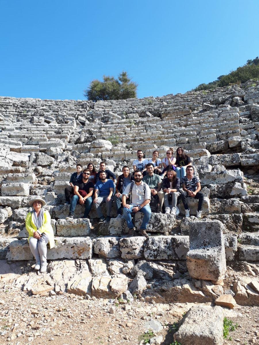Ortaca MYO Turist Rehberliği Öğrencilerinin Kaunos Gezisi