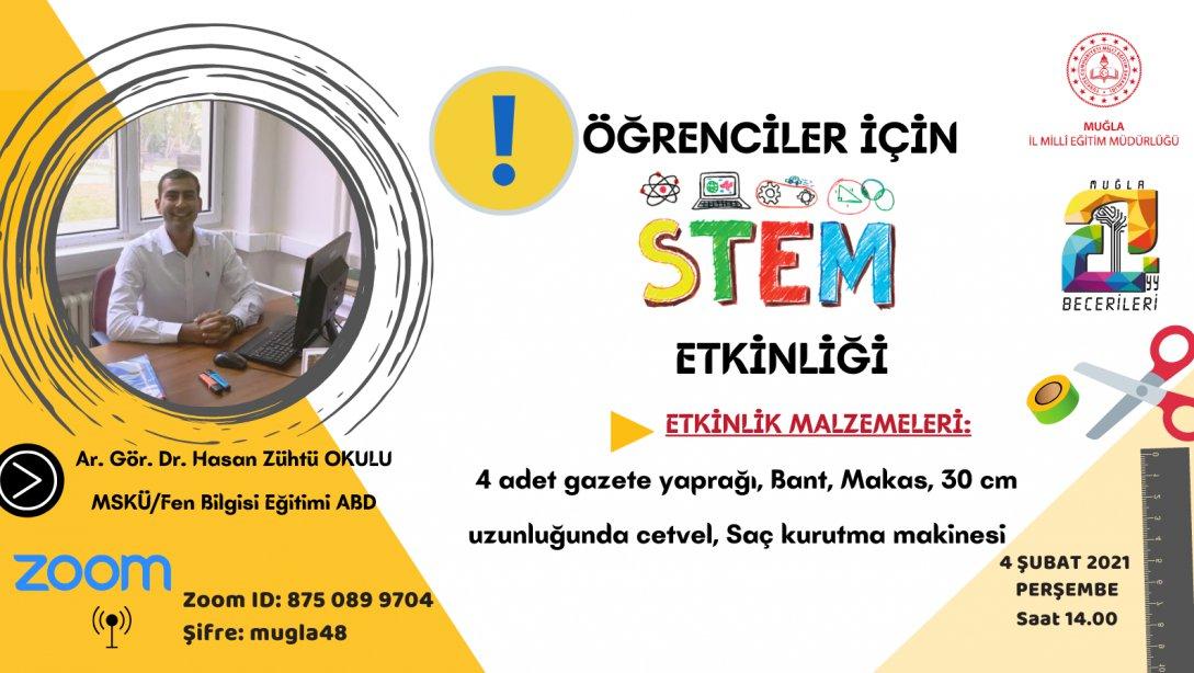 Merkezimiz STEM Eğitimi işbirliği