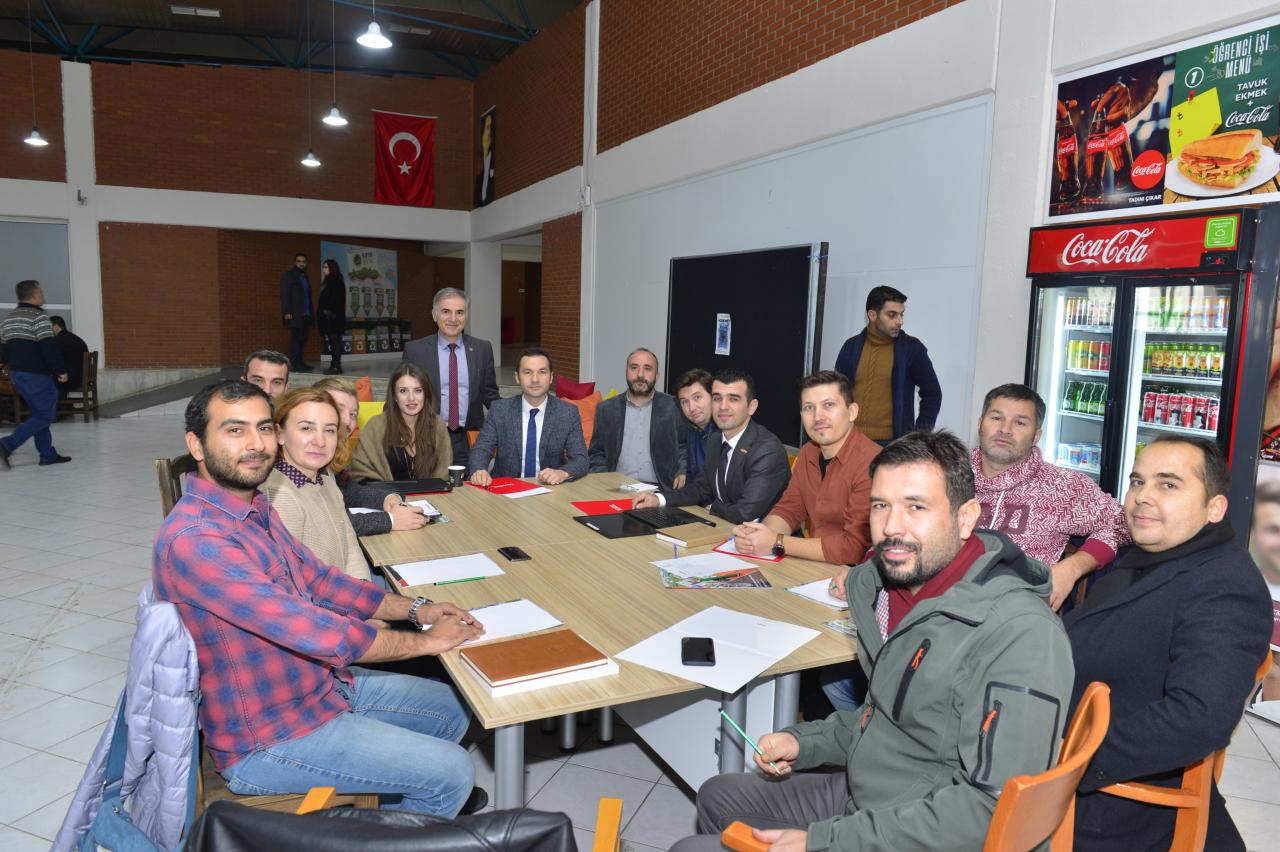 MUBEM Ekibi INOVA Muğla TTO A.Ş. ve Vestel A.Ş. iş birliği ile Ar-Ge Çalıştayında