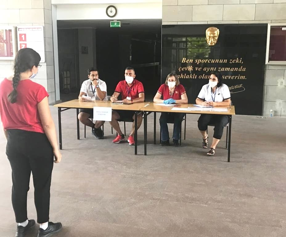 Covid-19 Pandemisine Uygun Önlemlerle Spor Bilimleri Fakültesi Özel Yetenek Sınavı Başladı