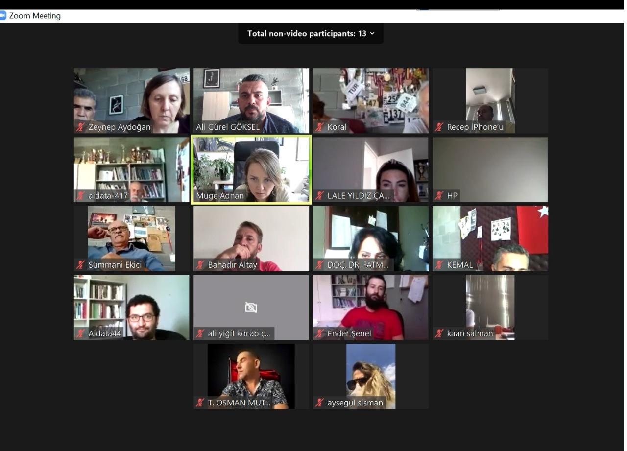 Fakültemiz Öğretim Elemanlarına Uzaktan Eğitimle İlgili Online Oryantasyon Toplantısı Gerçekleştirildi