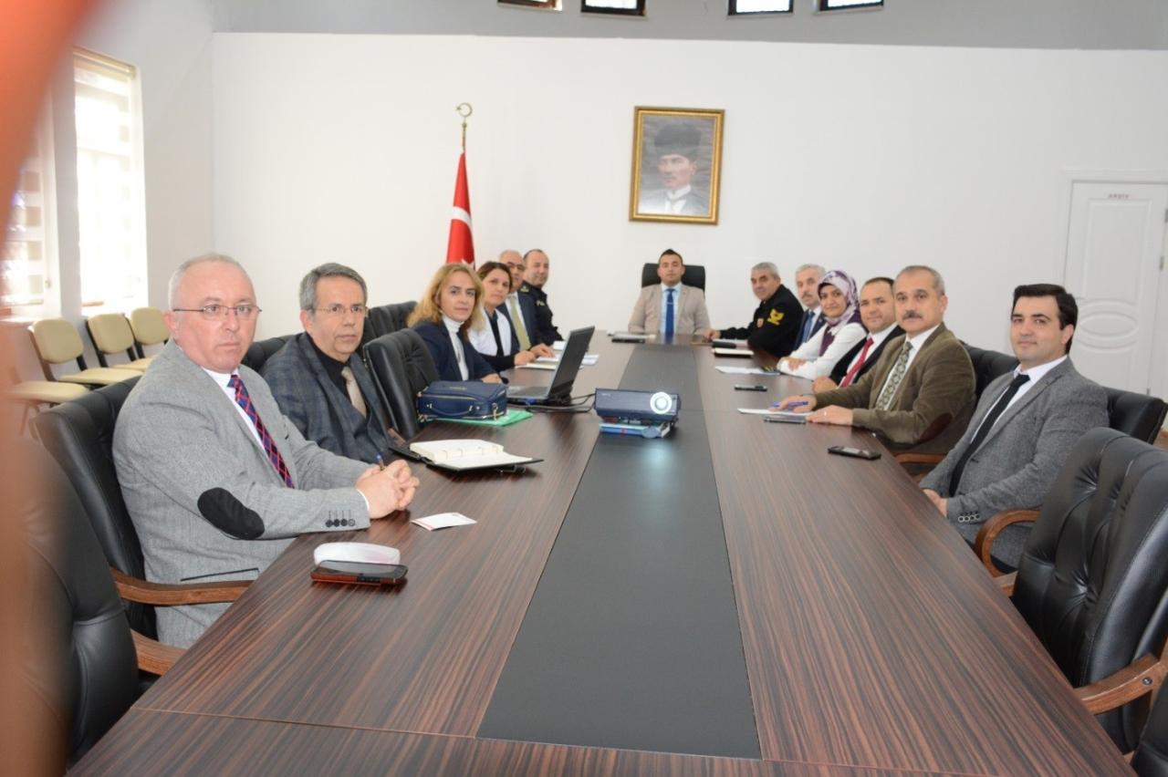 Bağımlılıkla Mücadele Komisyon Toplantısı