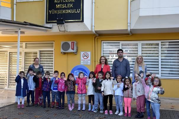 Anasıfı Öğrencilerinden Okulumuza Ziyaret