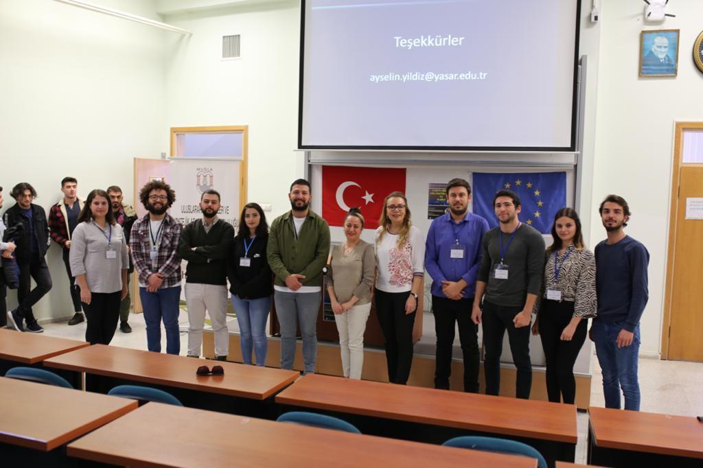 """""""Avrupa Birliği Göç Politikaları ve Suriye"""" konulu Konferans Fakültemizde gerçekleştirilmiştir"""