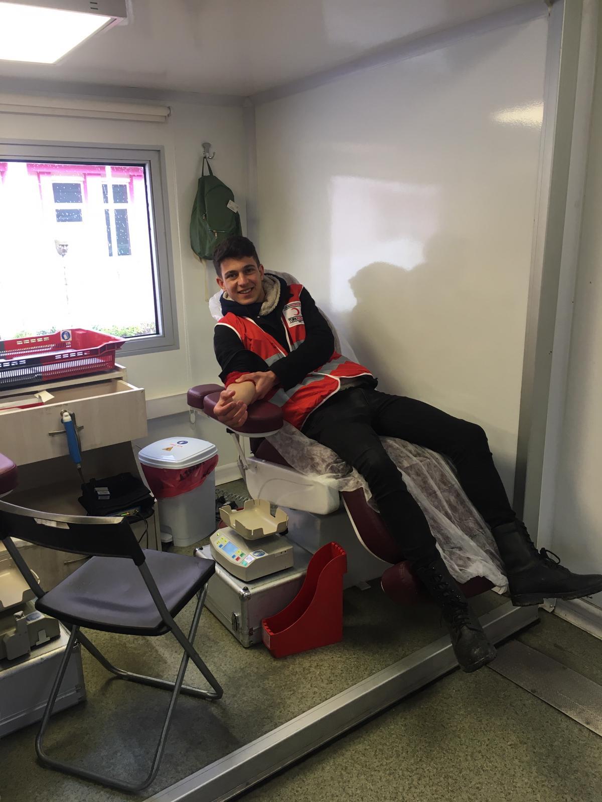 Yüksekokulumuzda Kan Bağışı
